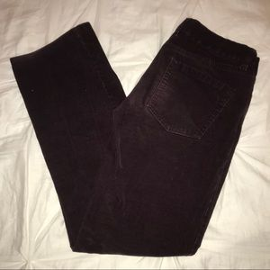 Dark Maroon Corduroy J.Crew Pants